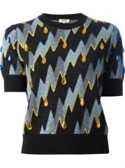 Kenzo lightning Bolt Sweater - Daniello at Farfetch