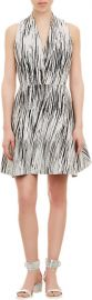 Kenzo wave pattern dress at Barneys Warehouse