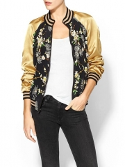 Kerra Bomber Jacket by Patterson J Kincaid at Piperlime