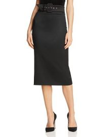 Kerstin Belted Pencil Skirt by Alice  Olivia at Bloomingdales