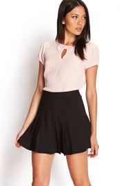 Keyhole Crepe Top at Forever 21