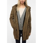 Khaki parka from Urban Outfitters at Urban Outfitters
