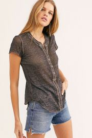 Kia Henley T-Shirt by Free People at Free People