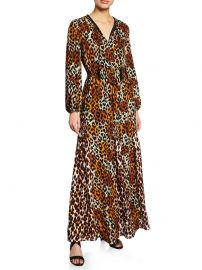 Kiana Leopard Maxi Dress by Kobi Halperin at Saks