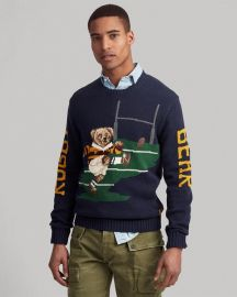 Kicker Bear Sweater at Ralph Lauren
