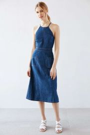 Kimchi Blue Aubrie Denim Dress at Urban Outfitters