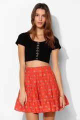 Kimchi Blue Cropped Top at Urban Outfitters