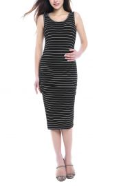 Kimi and Kai Tobi Stripe Maternity Dress at Nordstrom