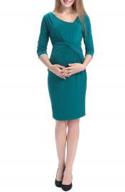 Kimi and Kai Teagan Body-Con Maternity Dress at Nordstrom