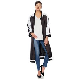Kimono-Sleeve Bomber Topper by HSN Wendy Williams Collection at HSN