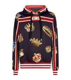 King print hoodie at Harrods