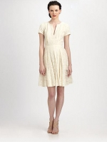 Kirsten Patchwork Lace dress by BCBG at Saks Fifth Avenue