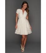 Kirsten patchwork dress by BCBGMAXAZRIA at 6pm
