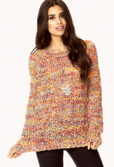 Kitschy-Chic Marled Sweater at Forever 21