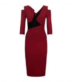 Kiverton Asymmetric Panel Dress by Roland Mouret at Harrods