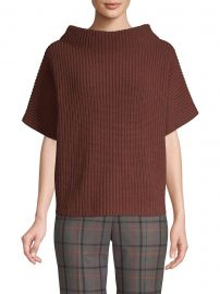 Knit Boatneck Sweater at Saks Fifth Avenue