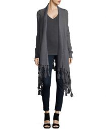 Knit Fringed Cardigan by BB Dakota at Lord & Taylor