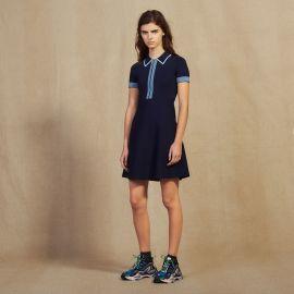 Knit Polo Dress at Sandro