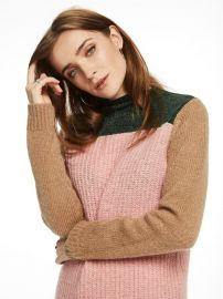 Knitted Colour Block Sweater by Scotch & Soda at Scotch & Soda