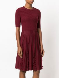 Knitted Flared Dress by Valentino at Farfetch