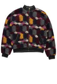 Knitted Multicolor Bomber Jacket by Essentiel Antwerp at Essentiel Antwerp