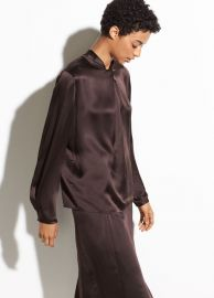 Knot blouse at Vince