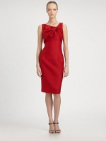 Knot front dress by Giambattista Valli at Saks Fifth Avenue