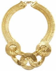 Knotted Bib Necklace at Capwell