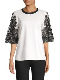 Kobi Halperin - Dora Embellished Blouse at Saks Fifth Avenue