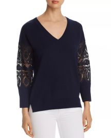 Kobi Halperin Katharina Lace-Sleeve Sweater Women - Bloomingdale s at Bloomingdales