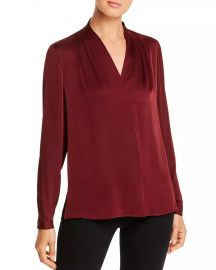 Kobi Halperin Nellie Silk-Blend Pleated Blouse - 100  Exclusive Women - Bloomingdale s at Bloomingdales