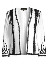 Kobi Halperin - Camila Embellished Open-Front Jacket at Saks Fifth Avenue