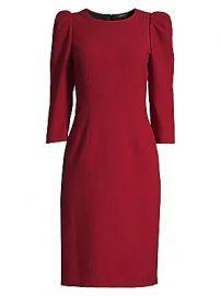 Kobi Halperin - Jody Princess-Sleeve Sheath Dress at Saks Fifth Avenue