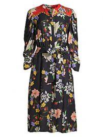Kobi Halperin - Leila Floral Shirtdress at Saks Fifth Avenue