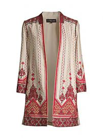 Kobi Halperin - Lexy Embroidered Linen-Blend Coat at Saks Fifth Avenue