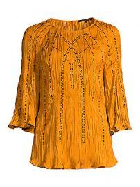 Kobi Halperin - Steffi Embellished Blouse at Saks Fifth Avenue