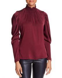 Kobi Halperin Anderson Silk-Blend Puff-Sleeve Blouse Women - Bloomingdale s at Bloomingdales