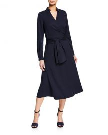 Kobi Halperin Andie Self-Tie Wrap Dress at Neiman Marcus