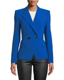 Kobi Halperin Corynne Double-Breasted Blazer Jacket at Neiman Marcus