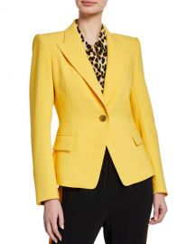 Kobi Halperin Dylan One-Button Tailored Jacket at Neiman Marcus