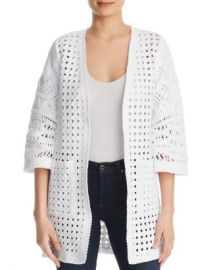 Kobi Halperin Jillian Basket Weave Cardigan Women - Bloomingdale s at Bloomingdales