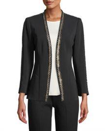 Kobi Halperin Ken Studded Blazer Jacket at Neiman Marcus