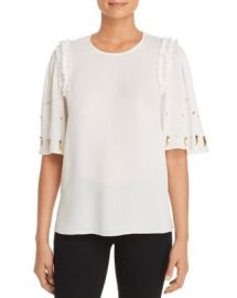 Kobi Halperin Krissy Embellished Silk Blouse Women - Bloomingdale s at Bloomingdales