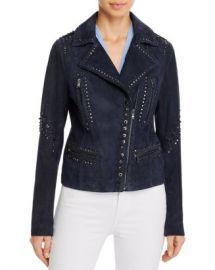 Kobi Halperin Veronica Embellished Leather Moto Jacket Women - Bloomingdale s at Bloomingdales