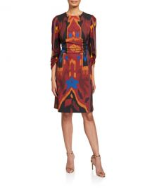 Kobi HalperinJasmine Printed Sheath Dress at Neiman Marcus