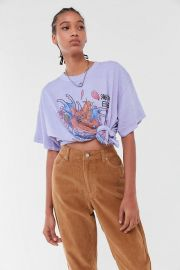 Koi Fish Oversized Tee at Urban Outfitters