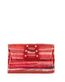 Kooreloo 3D Woven Clutch Bag at Neiman Marcus