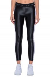 Koral Emblem Crop Leggings at Nordstrom