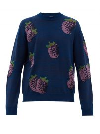 Koray fruit-jacquard sweater by Acne Studios at Matches