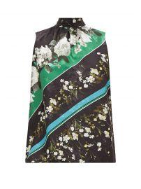 Koten Floral Stripe Tie Neck Top by Erdem at Matches
